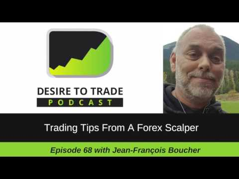 068: Trading Tips From A Forex Scalper – Jean-François Boucher