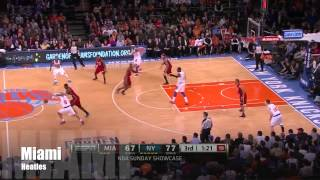 Dwyane Wade and LeBron James Full Combined Highlights 2013.03.03 at Knicks - Nice Dunks, Clutch!
