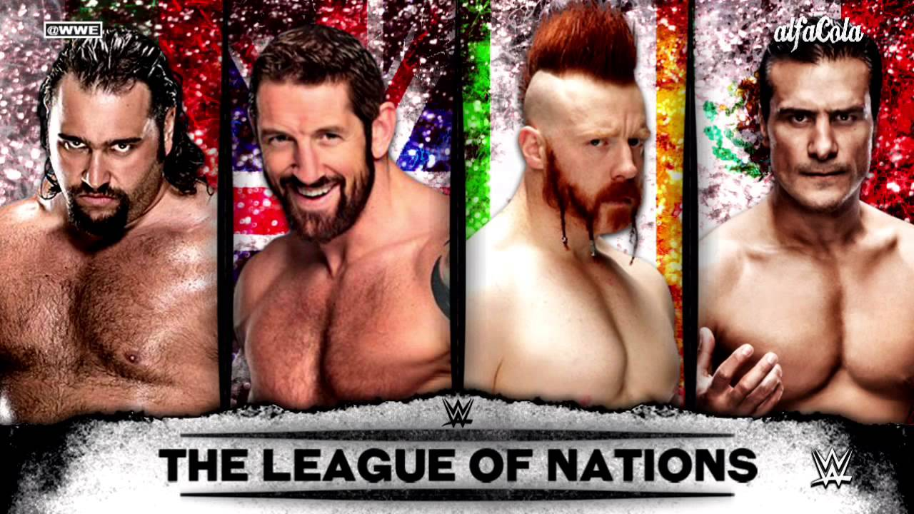 Wwe The League Of Nations A League Of Their Own Theme Song 2015 Youtube