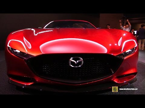 Mazda RX-Vision Concept - Exterior Walkaround - 2015 Tokyo Motor Show