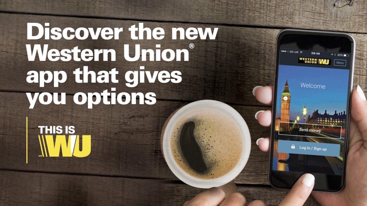 The new Western Union® app gives you even more options - YouTube
