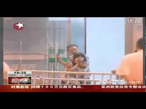 ตำรวจหญิงจีนใจเด็ด ยิงระยะเผาขน!