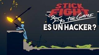 ES UN *HACKER* Y HACE TRAMPAS!! Stick Fight!