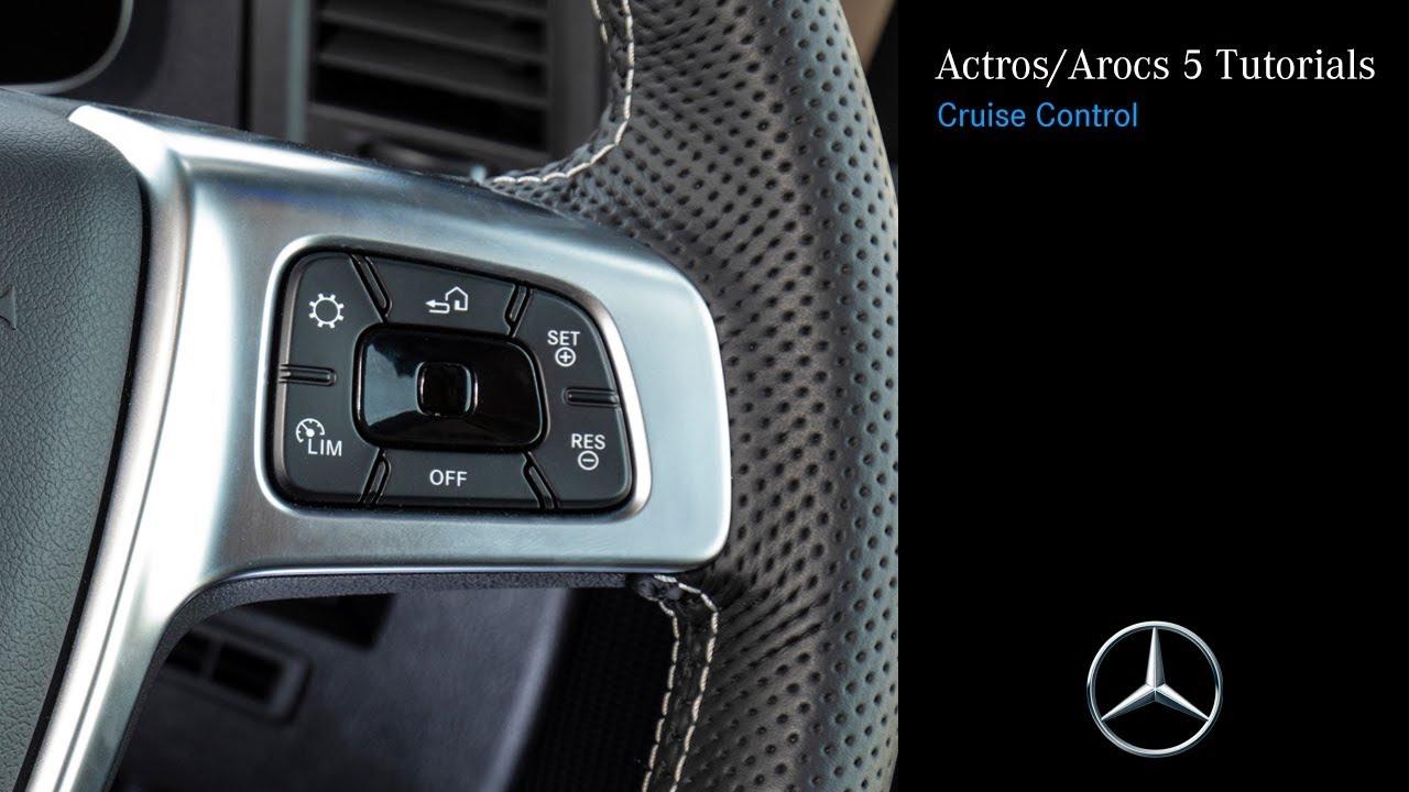 New Actros/Arocs 5 Tutorials: Cruise Control Operation