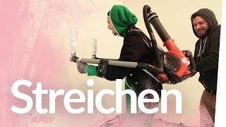 Jetpackpinsel bauen – Das Haus streichen | Kliemannsland