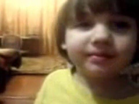 Видео прикол: Красивый голос маленькой девочки