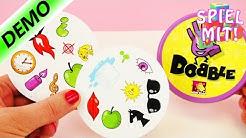 Dobble Spiel deutsch | Kartenspiel zum Reflexe trainieren | Schnelligkeit ist gefragt