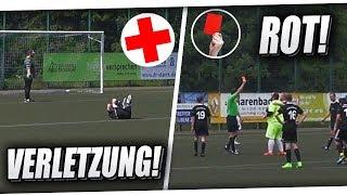 ROTE KARTE für METI!😱 PATRICK SCHWER VERLETZT! Krasses Spiel ft Elfmeter, Traumtor & mehr! PMTV
