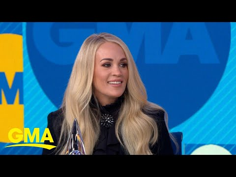 The Laurie DeYoung Show - CMA Awards Preview: Carrie Underwood Chats About The Show on GMA