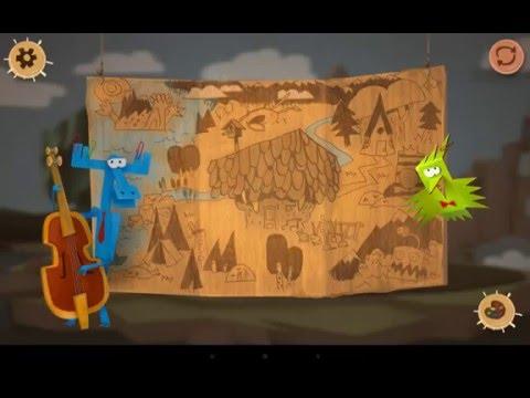 Бумажки Интерактивный мульт  для детей ios/andoid Gameplay