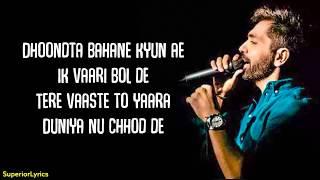 Download lagu O Jaanwaale Lyrics | Akhil Sachdeva | Himanshi Khurana | Kunaal Vermaa | Bhushan Kumar
