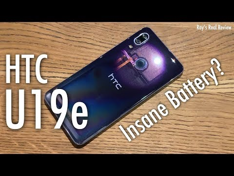 HTC U19e Review, Iris Unlock, Glassy, Battery King! Ray's Real Review