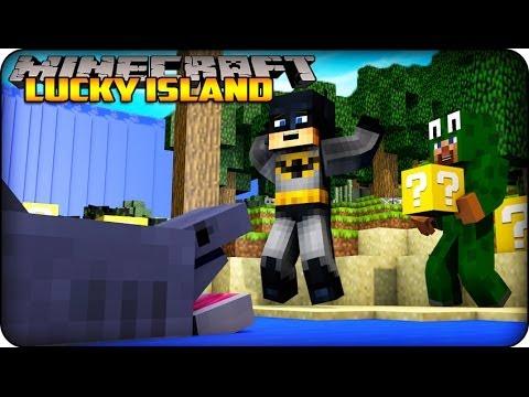 Minecraft - Lucky Block Survival Island - (Lucky Block Mod/ Lots O Mobs Mod ) #1