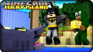 Minecraft - Lucky Block Survival Island - (Lucky Block Mod/ Lots O Mobs Mod ) #1
