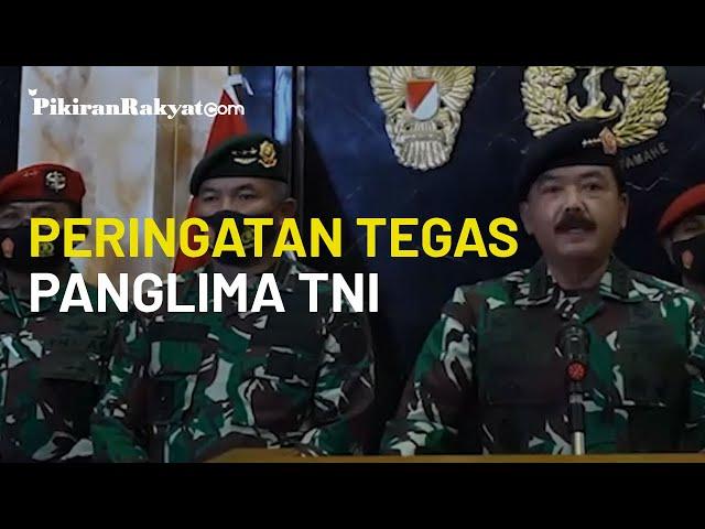 Tegas! Panglima TNI Beri Peringatan Soal Persatuan Bangsa demi Menjaga Stabilitas Nasional NKRI