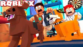 FLYGTER! - Roblox vita segreta di animali domestici Obby og Roblox fuga Krusty Krab Obby med ComKean