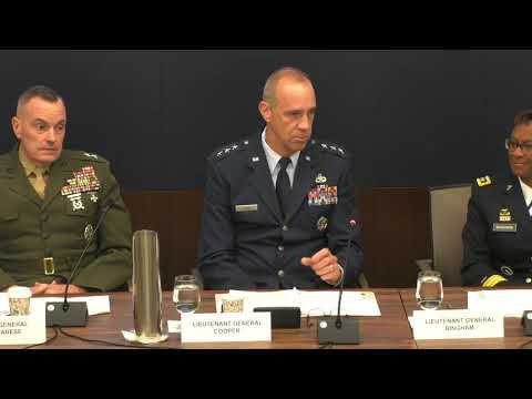 Army Installations Hot Topic 2018 - Panel 1 - Joint Installations