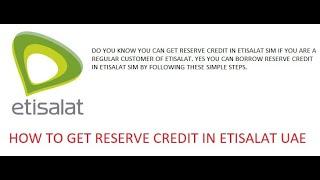 How To Borrow Data Frm Egypt Etisalat Sim