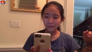 Clip Cười Bể Bụng - Cô Bé Gốc Việt Nói Tiếng Việt - Cười Không Nhặt Được Mồm !!!