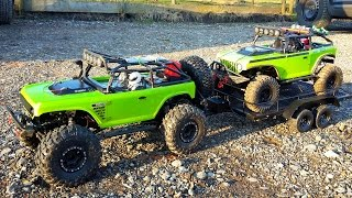 RC AXIAL 4x4 MUD ACTION & ROCK CRAWLING - Isterberg 2016