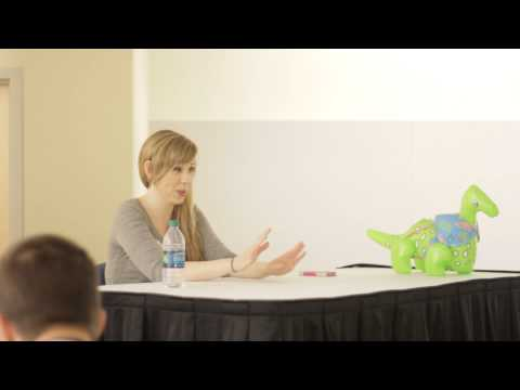 Ryu Con: Alexis Tipton Stage Acting .vs Voice Acting panel