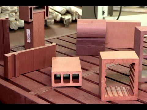 Pl stico reciclado para construcci n de muebles pisos y - Muebles con ladrillos ...