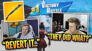 Fortnite Pros Thoughts on Season 9 & First Win! (New Combat Shotgun)
