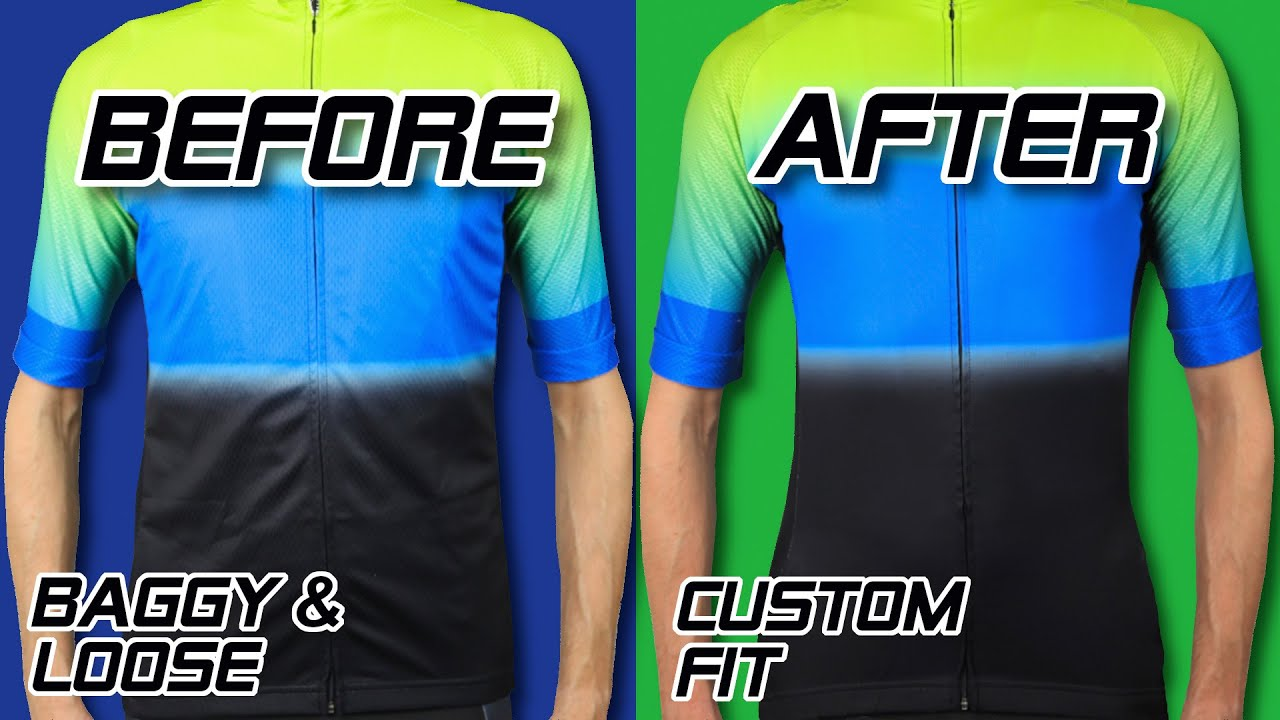 Tailoring cheap CYCLE JERSEYS, from loose & baggy to a premium fit!