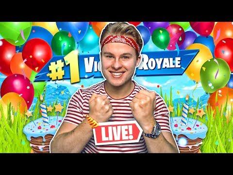 FORTNITE MET KIJKERS OP MIJN VERJAARDAG!! - Royalistiq Fortnite Livestream (Nederlands) thumbnail