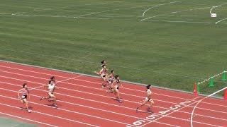 2015年7月12日(日) 岩手県民体育大会陸上競技 8部女子100メートル決勝 1...
