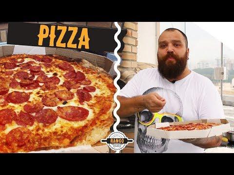 Como fazer pizza - Abrir massa sem rasgar - Especial Pizza Ep.2