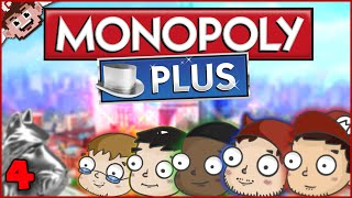 NO TRADES? NO FUN! (Monopoly Plus w/ The Derp Crew - Part 4)