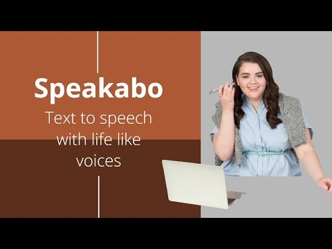 Speakabo: Take a look at one of best text to speech online service