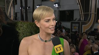 Why Tom Hanks is 'EVERYTHING' to Charlize Theron | Golden Globes 2020