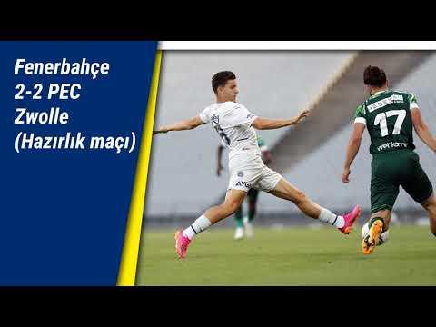 Fenerbahçe 2-2 PEC Zwolle (Hazırlık maçı) | Dördüncü maçta takıldık | Valencia klasını konuşturdu