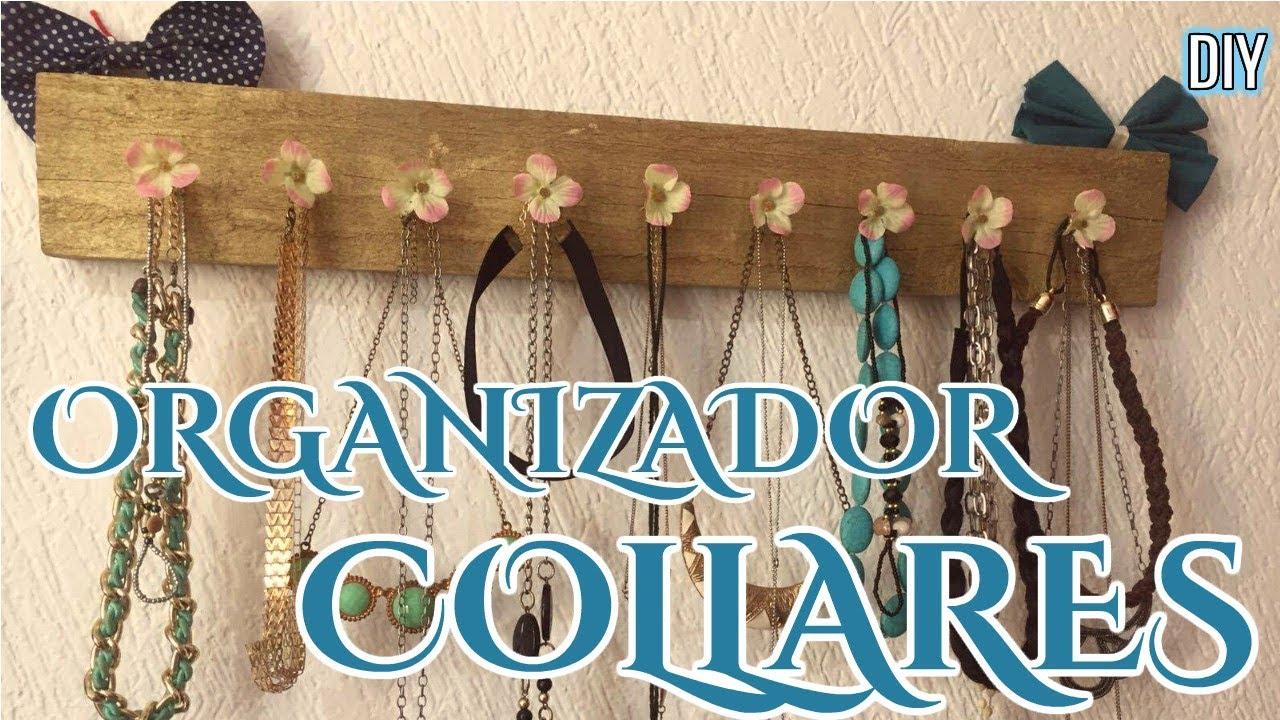 c49cd80c362d 💄DIY COMO HACER ORGANIZADOR DE COLLARES