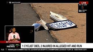 Cyclists hit and run update
