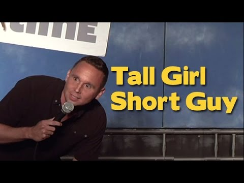 Tall girl short guy jokes about dating