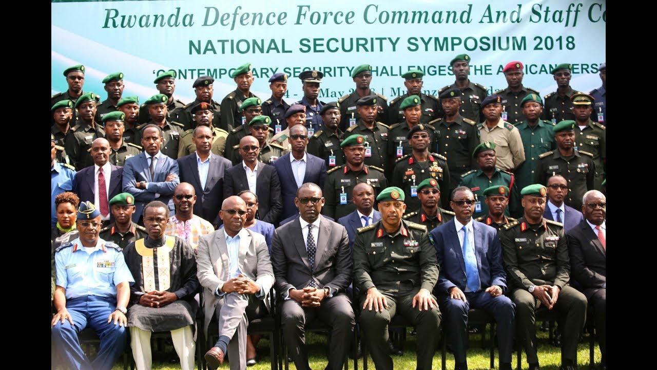 DAY 1: National Security Symposium Opens in Rwanda