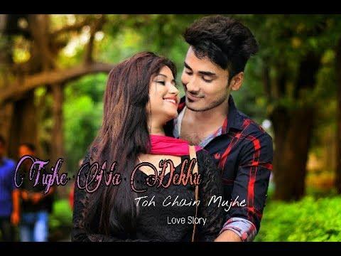 tujhe-na-dekhu-toh-chain-mujhe-aata-nahi-hai-|-unplugged-cover-|-george-kerketta-|-love-story-2018