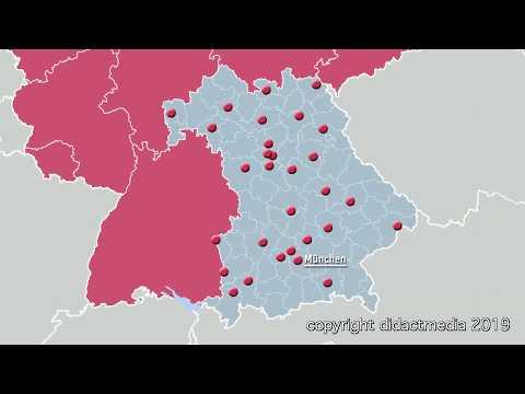 bayern:-bezirke,-kreise-und-städte-–-regionen-in-deutschland-–-bayern