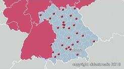 Bayern: Bezirke, Kreise und Städte – Regionen in Deutschland – Bayern