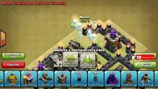 CLASH OF CLANS- TH6 WAR - O Melhor Layout cv6 Guerra!