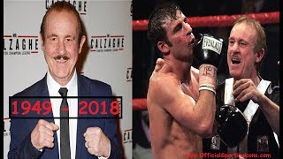 RIP ENZO CALZAGHE - THE FATHER OF JOE CALZAGHE HAS PASSED AWAY TODAY!!