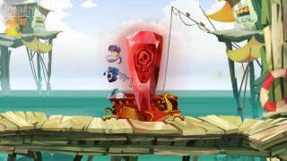 Rayman Origins - All 10 red teeth levels - 1080p PC Gameplay