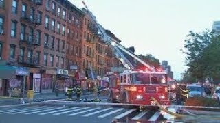 East Village apartment fire injures more than a dozen firefighters
