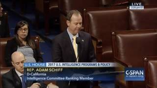 Rep. Schiff Speaks in Support of Annual Intelligence Authorization Bill on House Floor