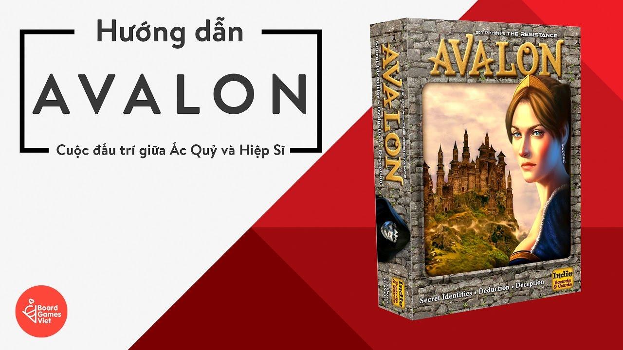 Board Game Việt - Hướng dẫn chơi Board game Avalon