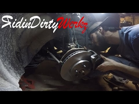 Metal To Metal | 06 Toyota Highlander Hybrid Front Brake R&R | In The Shop With NastyNotch Episode 7