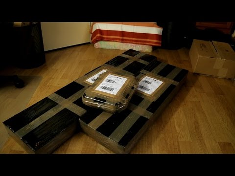 Mega unboxing airsoft - 3 répliques Custom Law airsoft